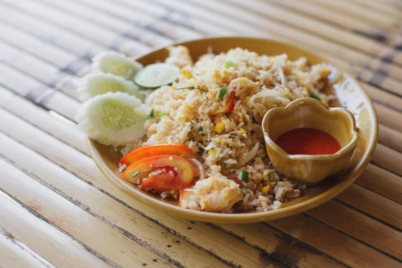 thailändsk mat