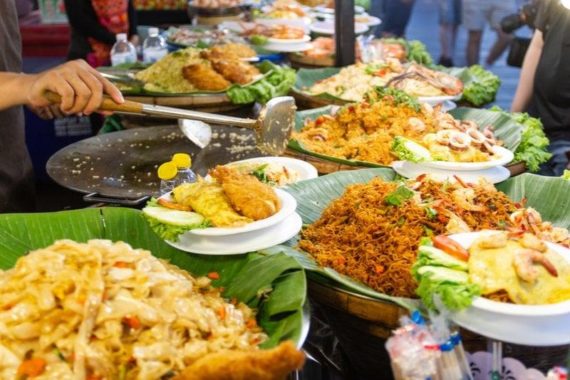 thailändsk gatumat