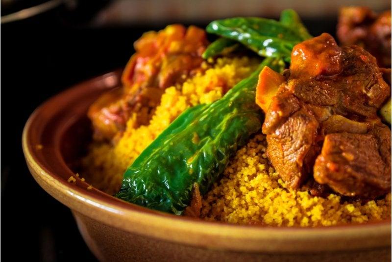 tunisisk couscous