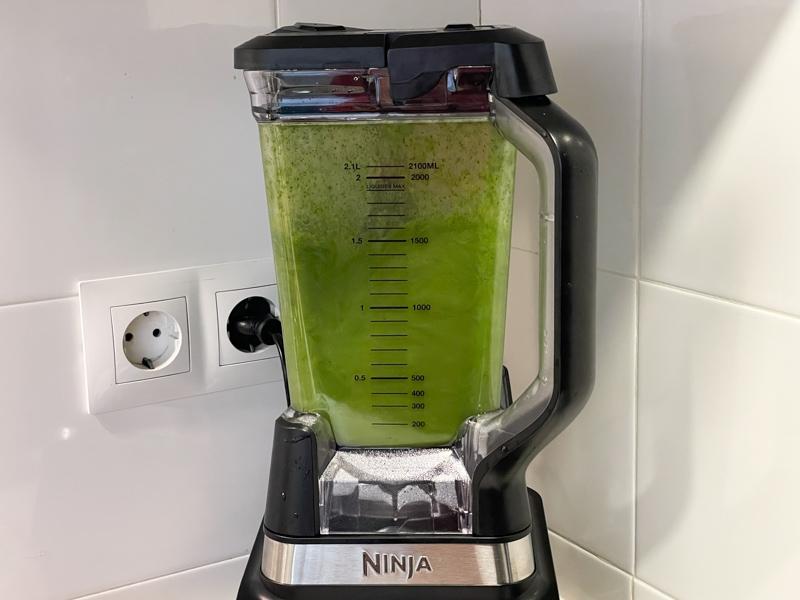 egen grön smoothie
