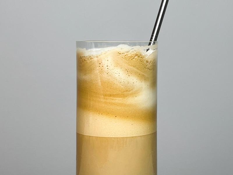 grekisk kall kaffedryck