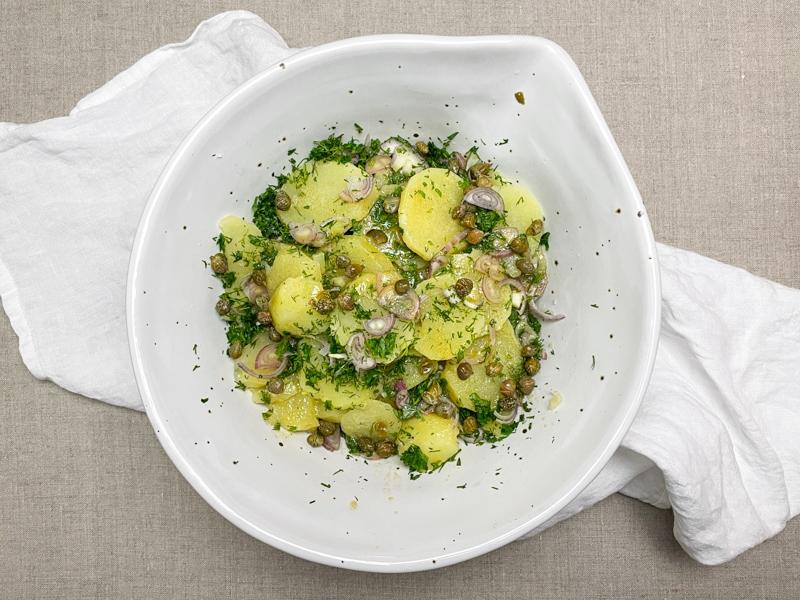 fransk potatissallad